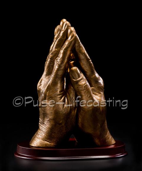 PrayingHandsBrass