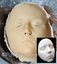 Face cast mold